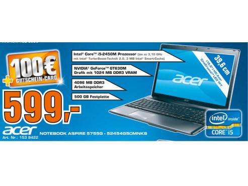 Acer Aspire 5755g-52454g50MNks ©Saturn