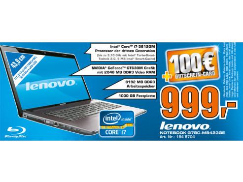 Lenovo G780-M8423GE ©Saturn