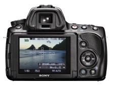 Rückseite Sony SLT-A37 ©COMPUTER BILD