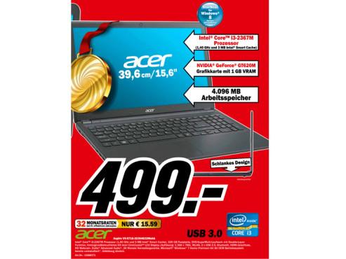 Acer Aspire V5-571G-32364G32Makk (NX.M2EEG.002) ©Media Markt