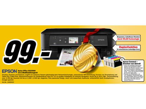 Epson Stylus Office BX535WD ©Media Markt