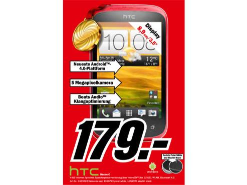 HTC Desire C ©Media Markt