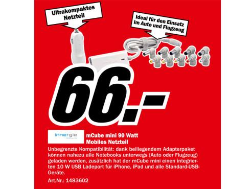 Innergie mCube 90 ©Media Markt