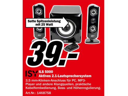 Isy ILS 5000 ©Media Markt