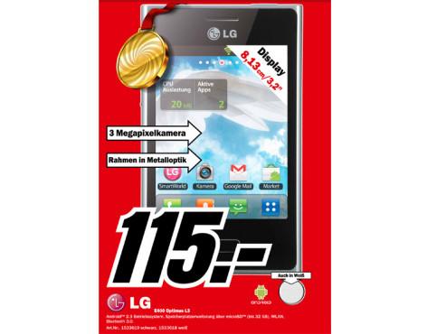LG Optimus L3 ©Media Markt