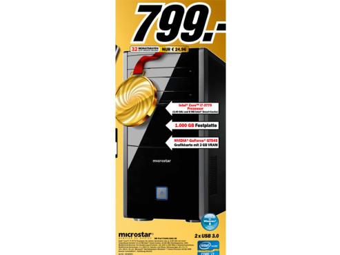 Microstar MR Prof i71000/8291 DE ©Media Markt