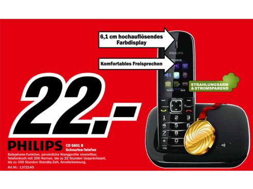 Philips CD 6801 ©Media Markt