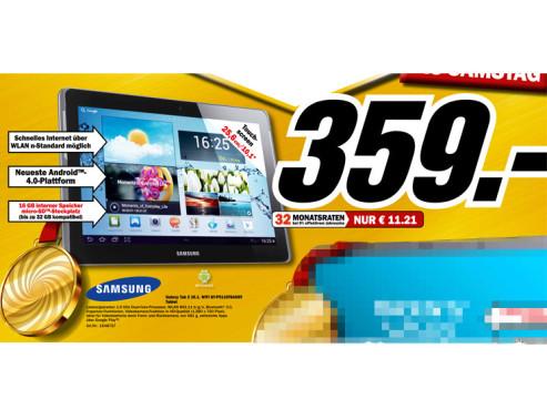 Samsung Galaxy Tab 2 (10.1) 16GB WiFi ©Media Markt