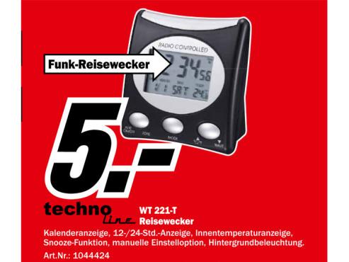 TechnoLine WT 221 T ©Media Markt