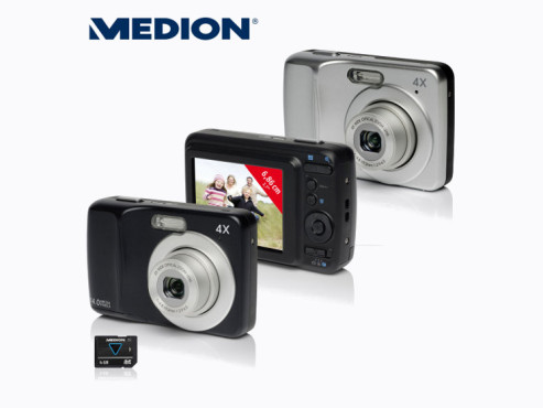 Medion Life E43020 (MD 86590) Digitalkamera ©Aldi Nord
