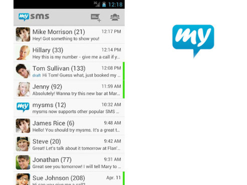 mysms: Remote SMS © Up to Eleven