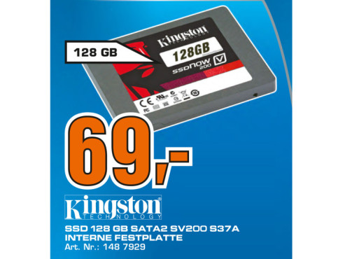 Kingston SSDNow V 200 128GB © Saturn