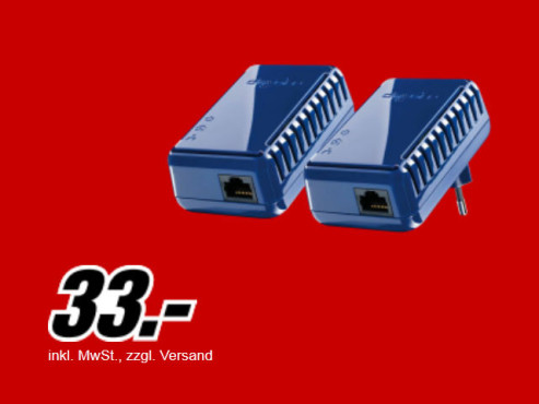 Devolo dLan 85 HSmini Starter Kit © Media Markt