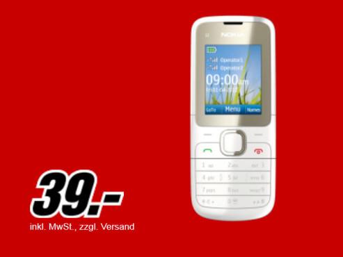 Nokia C2-00 Weiss ©Media Markt