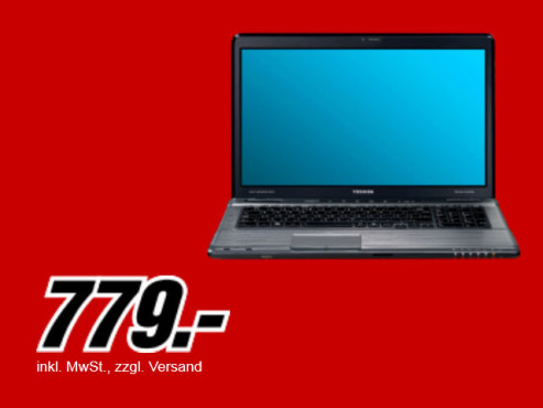 Toshiba Satellite P775-11T © Media Markt