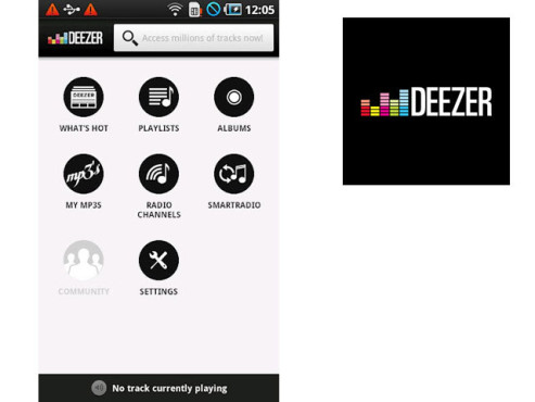 Deezer © Blogmusic SAS