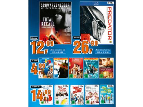 DVDs und Blu-rays ©Saturn
