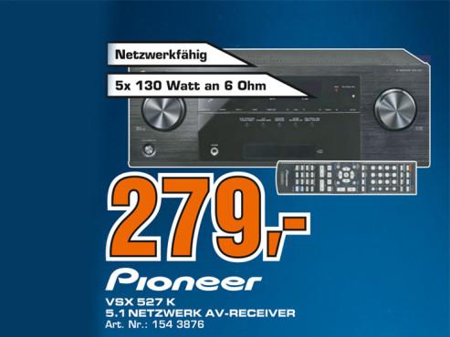 Pioneer VSX-527-K ©Saturn