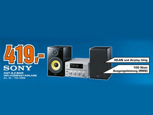 Sony CMT-G2BNiP ©Saturn