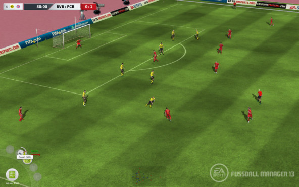 Simulation Fu�ball Manager 13: Stars © Electronic Arts