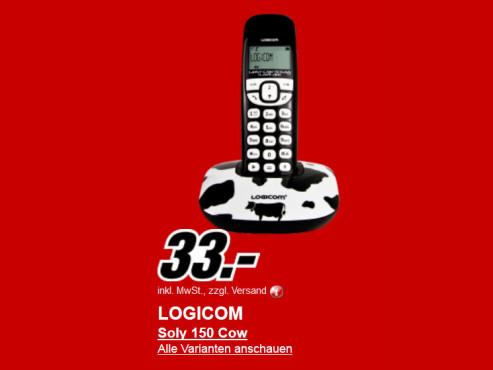 Neu dabei: Logicom Soly 150 ©Media Markt