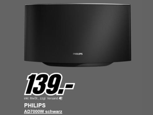 Neu dabei: Philips AD7000W ©Media Markt