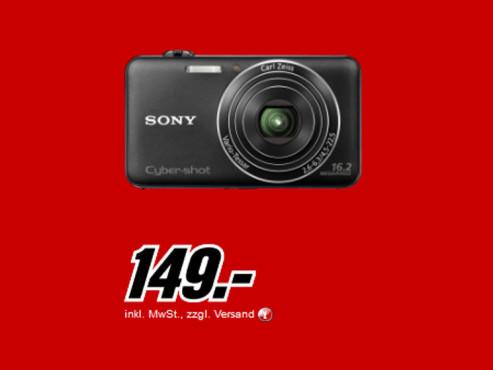 Sony Cyber-shot DSC-WX50 schwarz ©Media Markt