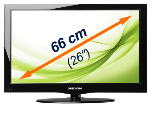LED-Fernseher Medion Life P14083 (26 Zoll) © MEDION