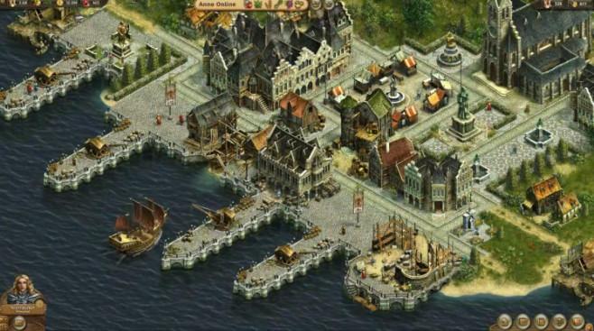 Aufbauspiel Anno Online: Hafen ©Ubisoft