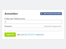 Webseiten-Login mit Facebook-Account ©COMPUTER BILD