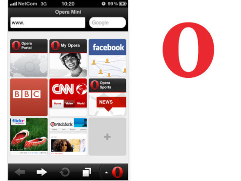 Opera Mini © Opera Software ASA