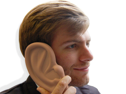Ear iPhone Case © ThumbsUpWorld