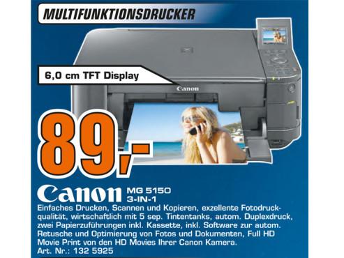Canon PIXMA MG5150 ©Saturn