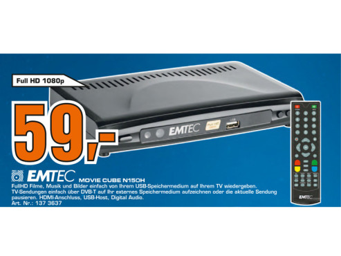 Emtec Movie Cube N150H © Saturn