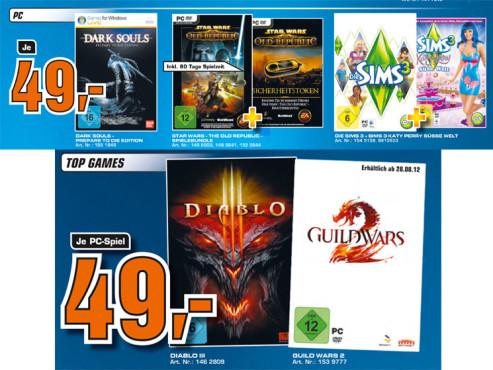 PC-Spiele ©Saturn