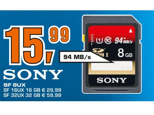 Sony Expert SDHC 8GB Class 10 UHS-I Card ©Saturn