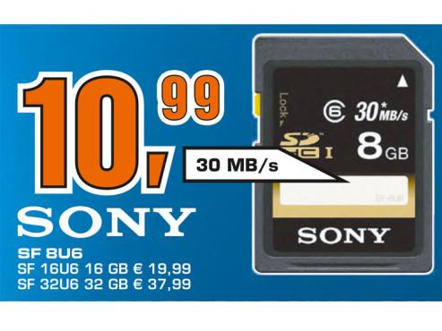 Sony SDHC Card 8 GB Class 6 UHS-I ©Saturn
