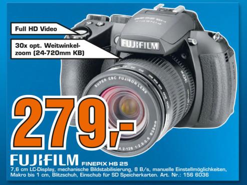 Fujifilm FinePix HS25EXR ©Saturn