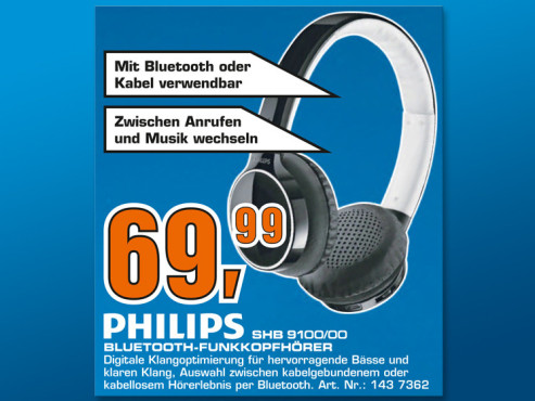 Philips SHB9100 © Saturn