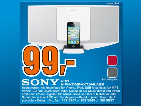 Sony CMT-V10IP ©Saturn