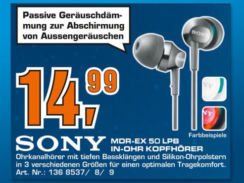 Sony MDR-EX50LP ©Saturn