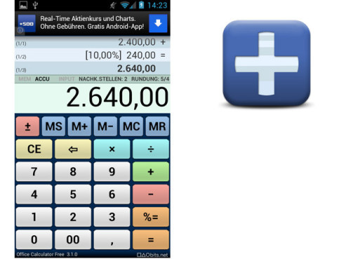 Office Calculator © taobits.net