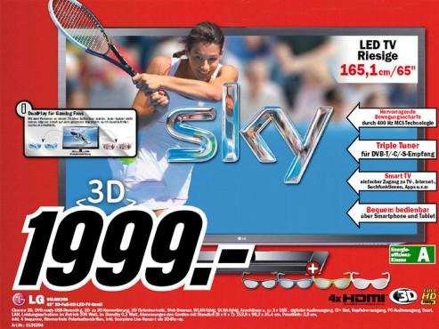 LG 65LM620S ©Media Markt