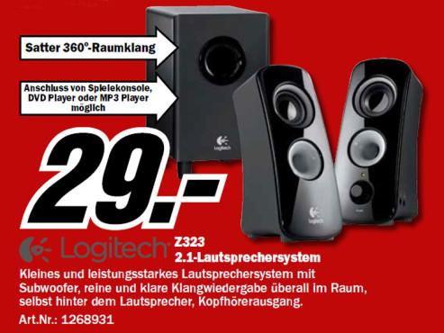 Logitech Z323 ©Media Markt