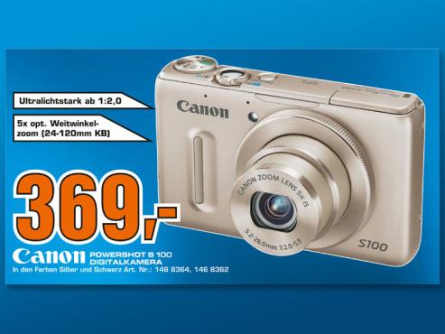 Canon Powershot S 100 ©COMPUTER BILD