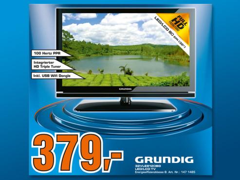 Grunding 32VLE8120BG ©COMPUTER BILD