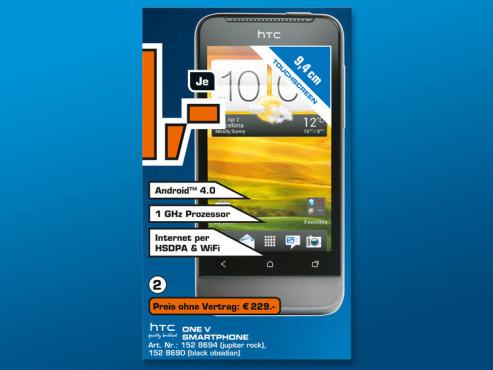 HTC One V ©COMPUTER BILD