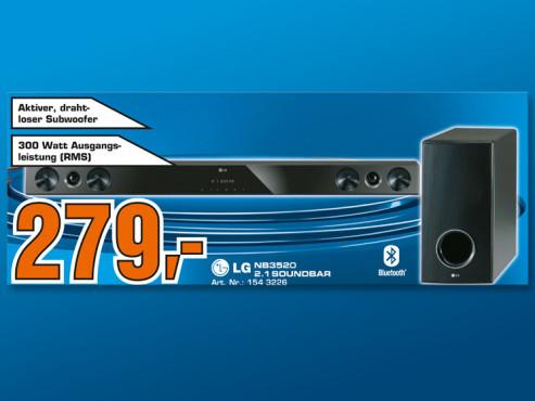 LG NB3520 2.1 Soundbar ©COMPUTER BILD