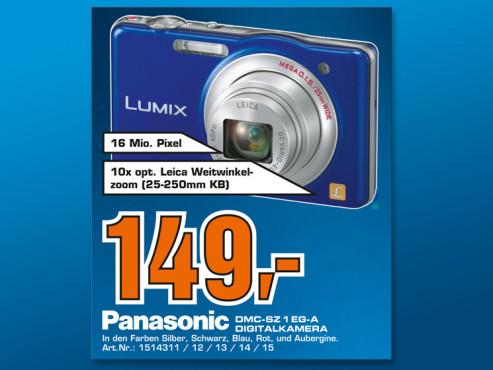 Panasonic Lumix DMC-SZ 1 EG-A ©COMPUTER BILD