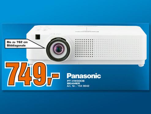 Panasonic PT-VW330E ©COMPUTER BILD